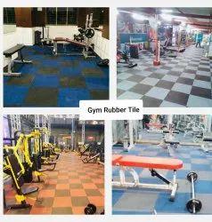 Gym Tiles Flooring Service