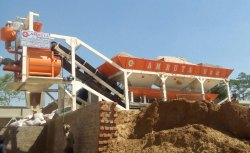 In Line Mobile Batching Plant