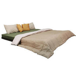 Cubit Foam and Fabric Sofa Cum Bed