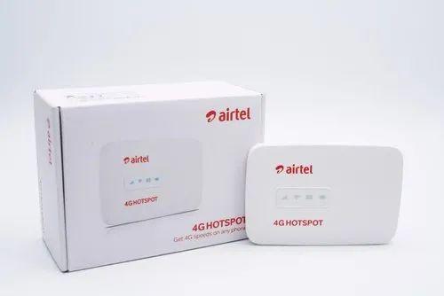 Alcatel Airtel 4g Lte Mw40 Unlocked Mi Fi Hotspot (white)