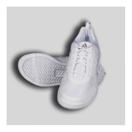 23adb5b5b93d Adidas White School Shoes with Lace at Rs 1950  pair