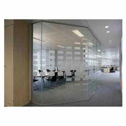 Commercial Frameless Toughened Glass Cabin