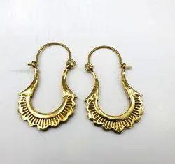 Brass Fashion Earring