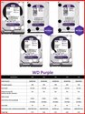 4 TB WD Purple HDD for CCTV