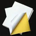 Inkjet Sticker Label, Packaging Type: Paper Packet