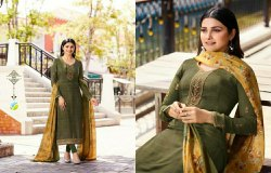 Vinay Fashion Silkina Vol 26 Designer And Casual Wear Crepe Suit