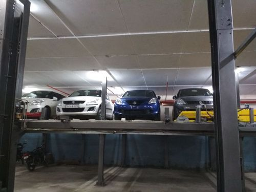 Multilevel Car Parking System Two Post Car Parking System