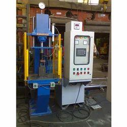 Stainless Steel Yellow Lab Testing Machine