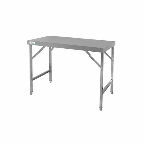 Stainless Steel Folding Table At Rs