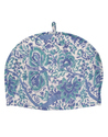 Floral Printed Blue Cotton Tea Warmer Tea Cozy