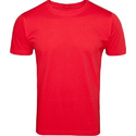 Mens Plain Red T-Shirt