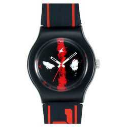 Deadpool by Fastrack Black And Red Dial Analog Unisex Watch