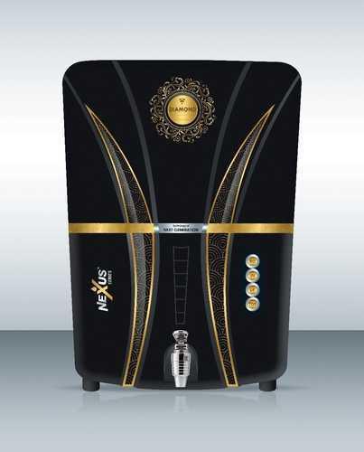 Black Aqua Fresh Diamond RO, Capacity: 7.1 to 14L