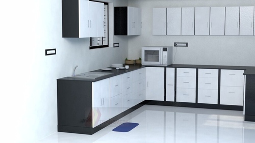 Beautiful L Shaped Modular Kitchen Part 19