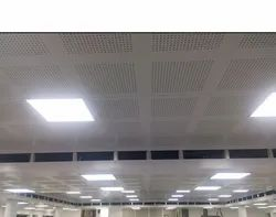 Perforated Gypsum Acoustic False Ceiling Tile