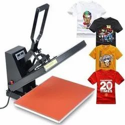 Manual Heat Transfer Machine for Printing Poly Cotton T Shirts