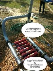 Electromagnetic Water Conditioner for Construction