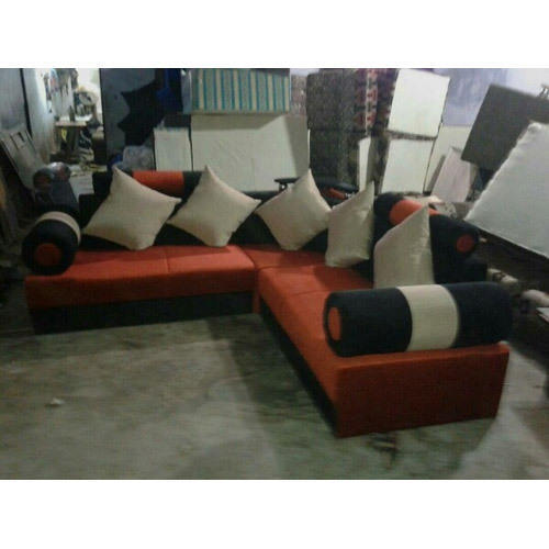 L Type Leather Sofa Set