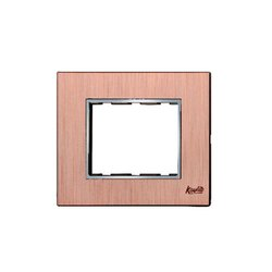 3 Module Brush Copper Modular Switch Plate