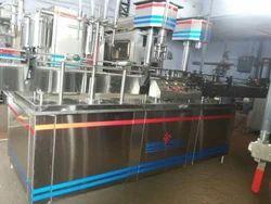 SHREEJI PROJECTS Automatic Liquid Filling Machine, Capacity: 20bpm, Packaging Type: Pet Bottle