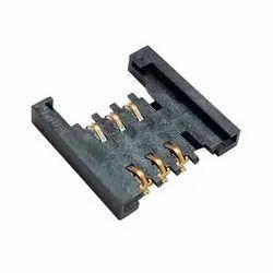 Sim Card Holder Micro 6 Pin Without Metal Bridge