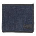 Blue Denim Combi Wallet