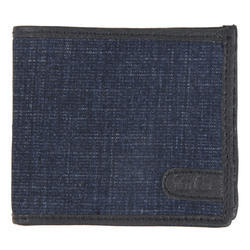 Blue, Black Blue Denim Combi Wallet
