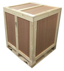 Totre Pack. 4 Ft X 3 Ft X 4f Plywood Boxes With Plywood Pallets