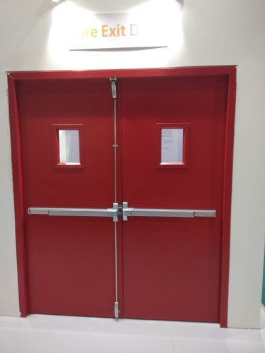 Fire Door Fire Proof Door With Panic Bar Emergency