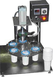Cup And Jar Sealing Machine