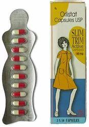 Orlistat Capsules USP Slim Trim Active Capsules