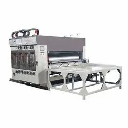 Semi-Automatic Flexo Printer Slotter Die Cutter Machine