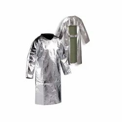 Aluminized Kevlar Back Open Coat