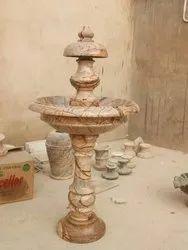Brown Sandstone Garden Fountain