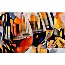 The Wine Glasses Painting Art