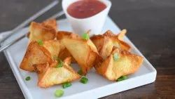 Mr.Foodie Frozen Cheese Rangoons, Packaging Type: Polypack