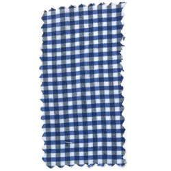 Check Cotton Blend Shirt Fabrics