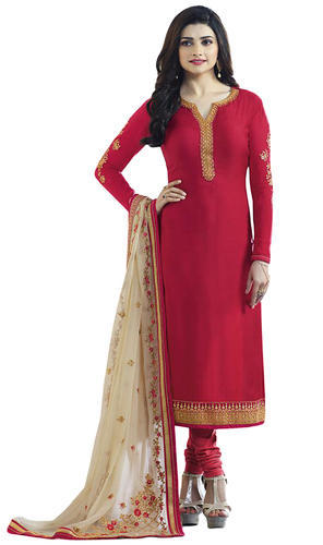c36095251e5 Women Royal Occasion Wear Satin Embroidery Semi-Stitched Salwar Kameez