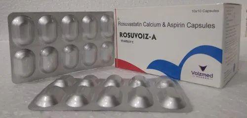 Rosuvastatin Calcium and Aspirin Capsules