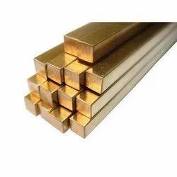 Brass Square Rod, Size: 30 X 30 Mm
