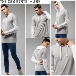 Men Hooded Tshirt