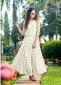 Designer Gown Style Georgette Printed Kurtis