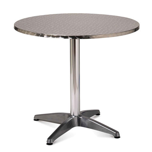 Beautiful Stainless Steel Round Table