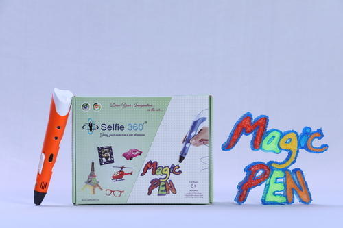 Selfie 360 3D Pen For Kids With Free Filament