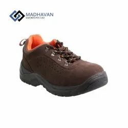 Male Leather Safety Suede Shoes
