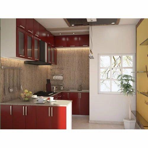 Best Modular Kitchens In Delhi: C Shaped Modular Kitchen Manufacturer