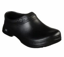Assorted Blk & Wht Daily Wear Skechers Clogs for Doctors/OT shoes, Size: 6