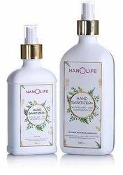 Nanolife Hand Sanitizer With 100 Percent Silver Nanoparticles Herbal Ayurvedic