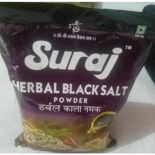 Suraj Herbal Black Salt Powder, Packaging Size: 500 g, Features: Zero Cholesterol