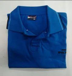 Half Sleeves SKAT INDIA Blue Collar Half-Sleeve T-SHIRT